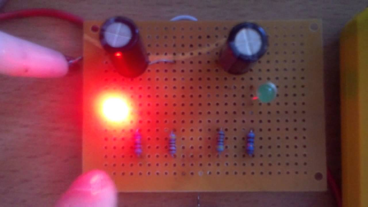 Blinking Leds Or Astable Multivibrator Youtube Blinked To Blink An Led You Need Some Kind Of Electronic Circuit