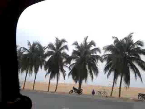 Seaside Boardwalk in Togo Lome