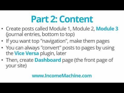 WordPress Membership Sites & Dashboard Pages: Member Genius And TablePress WP Plugins