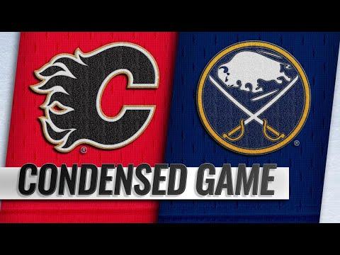 10/30/18 Condensed Game: Flames @ Sabres