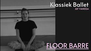 DANSLES: Floor barre