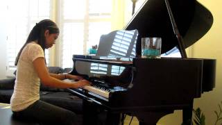 Usher Ft. Pit Bull Dj Got Us Fallin' In Love Piano Cover By Kimberly Diaz
