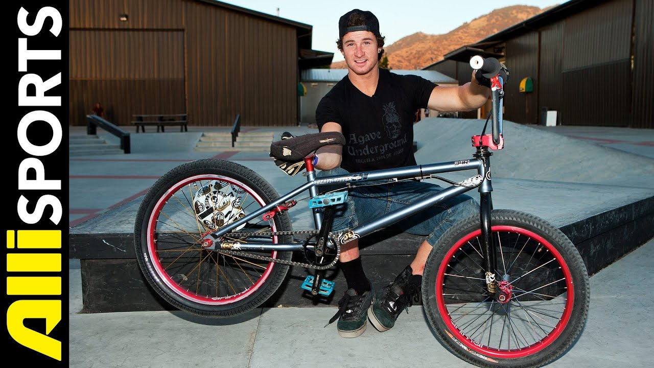 Big Daddy, aka Pat Laughlin, Breaking Down his SE BMX Bike Setup ...