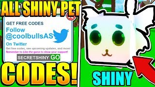 Roblox Pet Ranch Simulator Codes Twitter All Pet Ranch Simulator Codes Roblox Secret Shiny Pets Youtube