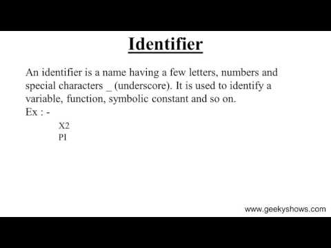 Identifier In JavaScript (Hindi)