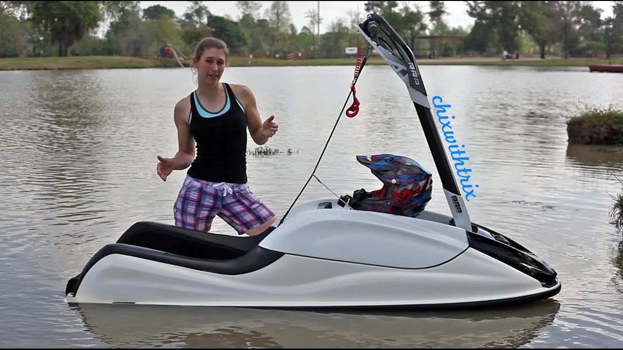 How To Ride A Stand Up Jet Ski Part 1 The Basics Youtube