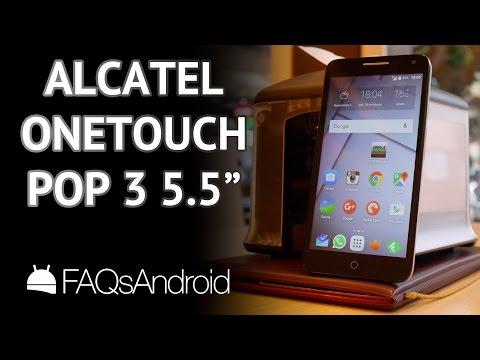 "Alcatel One Touch Pop 3 5 5"": análisis y características"