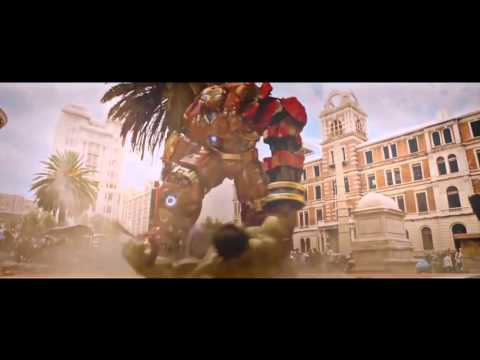 Avengers 2 Age of Ultron hulk vs Hulkbuster
