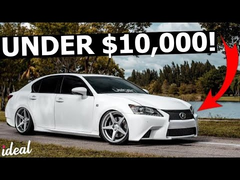 Best Used Luxury Cars Under $10,000 To Buy!