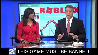 These News Reporters Want Roblox Banned!