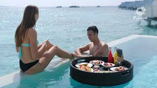 A Dozen Must Do Experiences in the Maldives - Floating breakfast