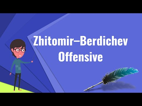 What is Zhitomir–Berdichev Offensive?, Explain Zhitomir–Berdichev Offensive