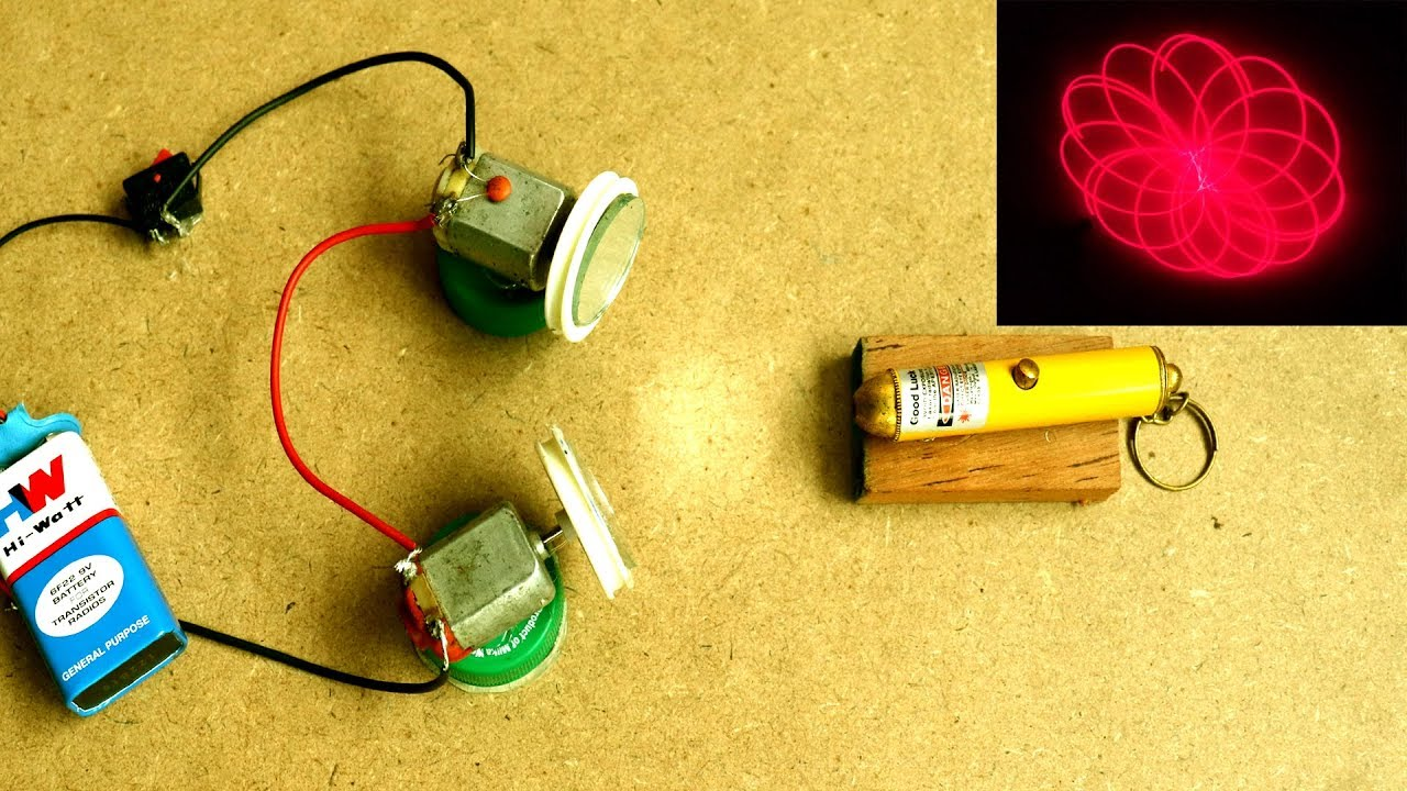 How To Make a Laser Light Show Projector at Home - DIY ...