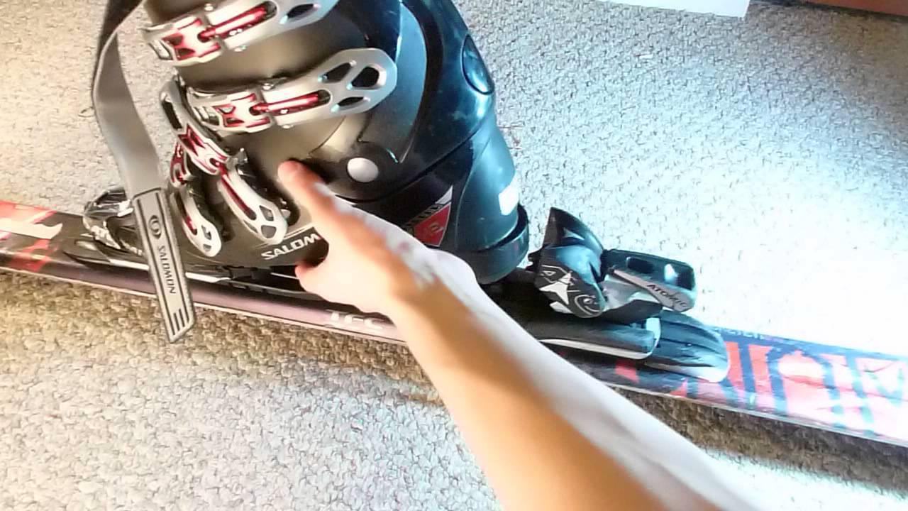 How To Adjust Ski Bindings Boot Size