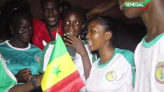 Une folle ambiance dans les rues de Dakar, après la qualification du Sénégal en final