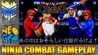 [ Ninja Combat 1990 NEOGEO SNK ] Gameplay (4k/60fps)