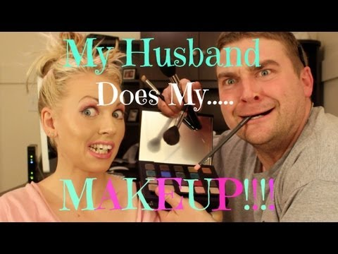 ♡ My Husband Does My Makeup! ♡