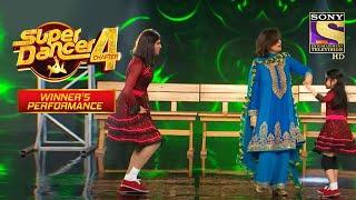 Neetu जी ने किया Tushar और Florina के साथ 'Chhuk Chhuk' पर Dance| Super Dancer| Winner's Performance