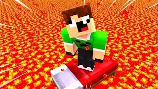 O CHÃO É LAVA NO BEDWARS !! - Minecraft