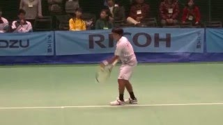 Yuichi Sugita (JPN) #2  Tennis Japan League 2016