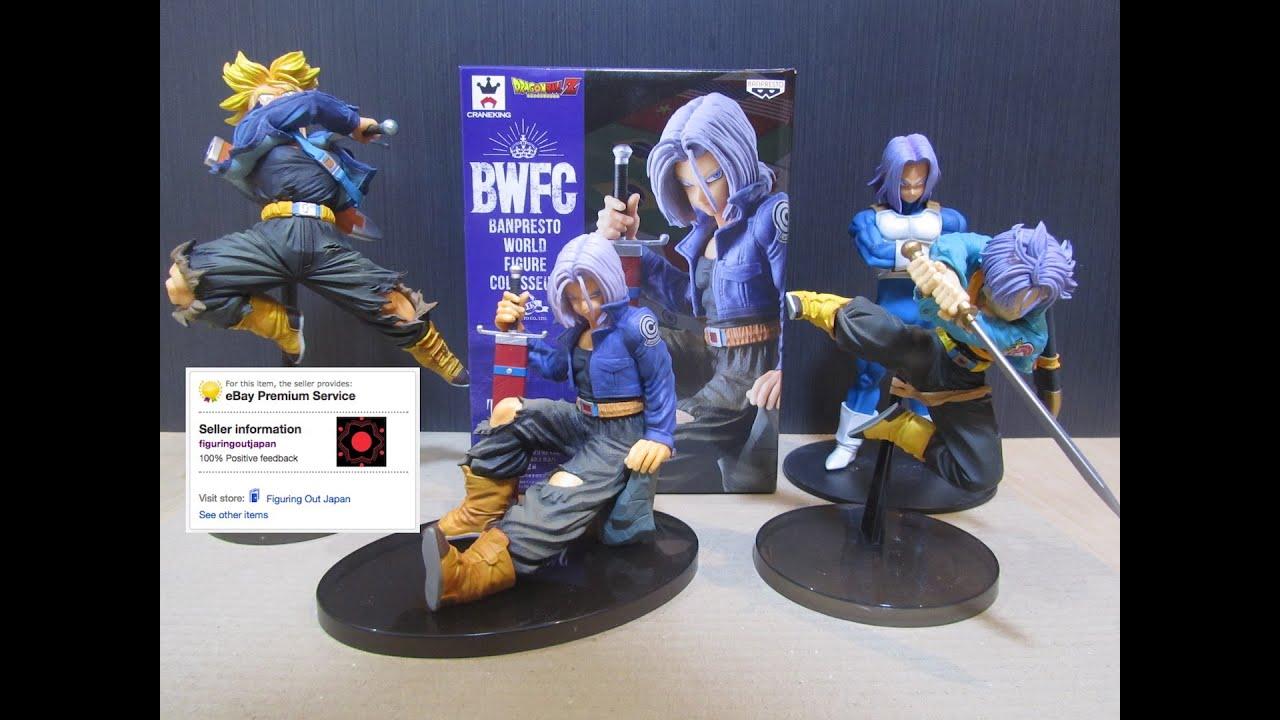 Banpresto Dragonball Z figure BWFC 6 set complete Japan NEW F//S