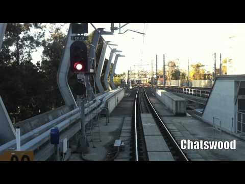 Hornsby to Central via North Shore
