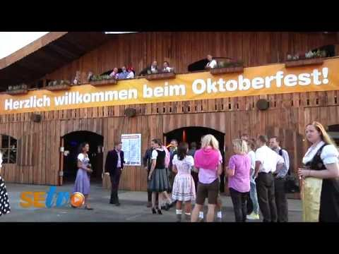 Oktoberfest Anstich bei Möbel Kraft