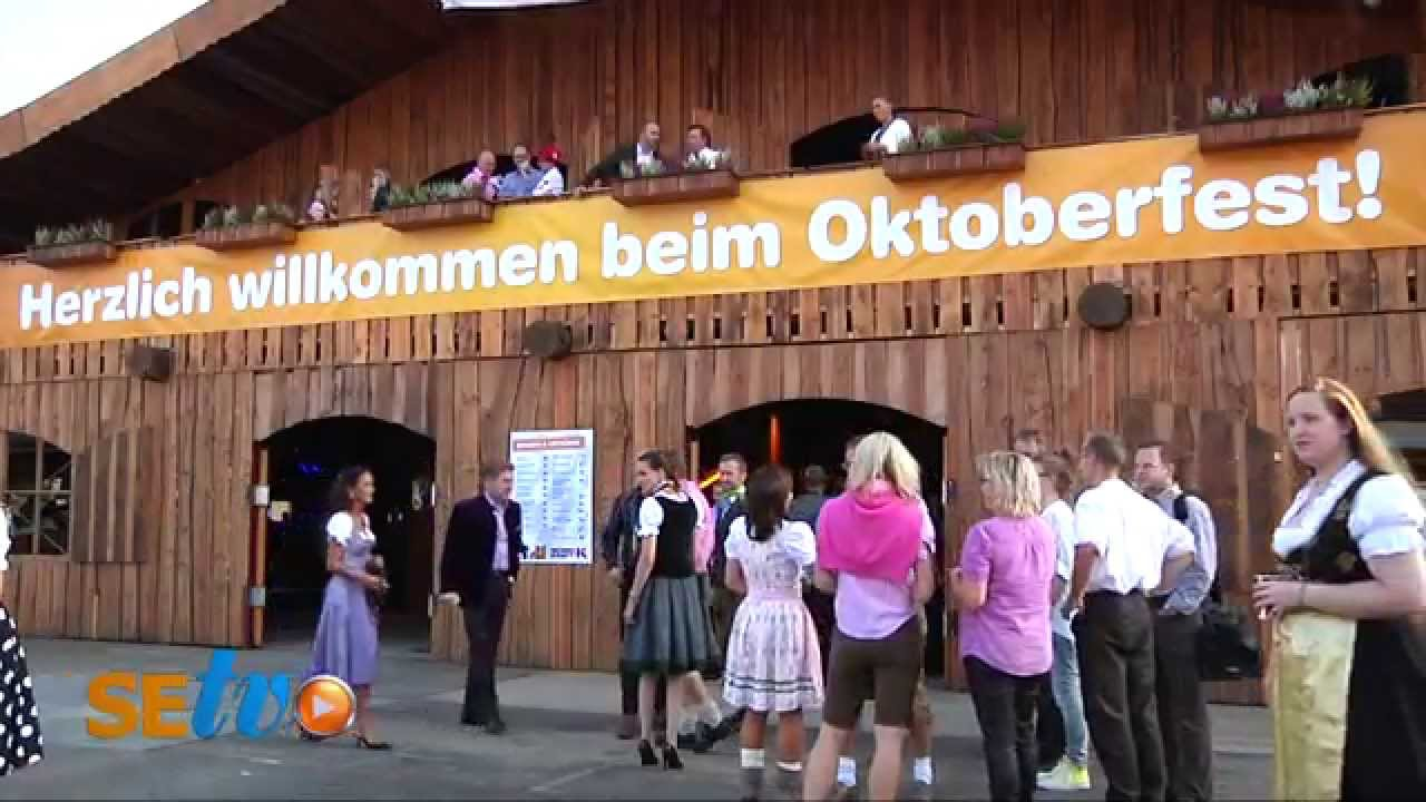 Oktoberfest Anstich Bei Möbel Kraft Youtube