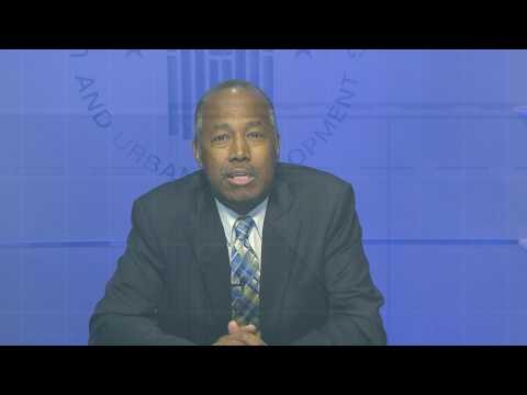 HUD Secretary Ben Carson Announces National Healthy Homes Month 1