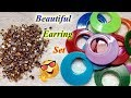2 minute craft | How to Make a Unique & Gorgeous Pearl Beaded Stone Chain Earring | Jewellery Making