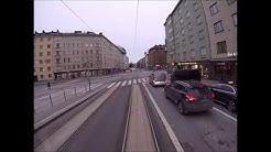 Helsingin Raitiolinja 10: Pikku Huopalahti-Kirurgi-Pikku Huopalahti. Helsinki Tramline 10. (2020)