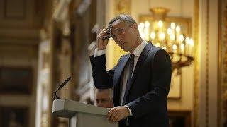 """PTV News 22.06.18 - Stoltenberg a Londra: """"La NATO potrebbe non sopravvivere per sempre"""""""