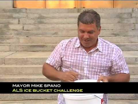 Yonkers Mayor Mike Spano recently completed the Ice Bucket Challenge.