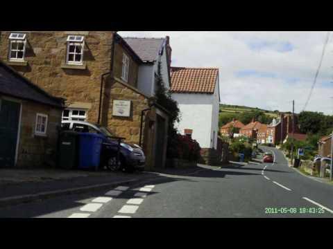 Cote de Robin Hoods Bay & Fylingthorpe cycling climb. Tour de Yorkshire.