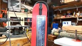 Knife Grinder From Harbor Freight Belt Sander - Part:1