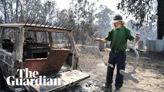 Queensland and NSW fires: residents survey 'heartbreaking' damage