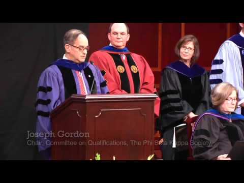 Mercer Celebrates New Chapter of The Phi Beta Kappa Society