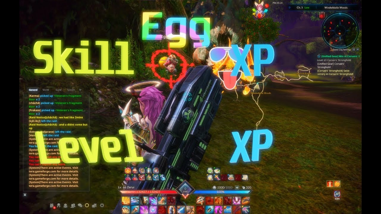 Tera Halloween Event 2020 Levvel TERA: Level XP and Skill XP from Egg event! | PART 47   YouTube