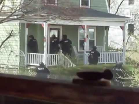 Police perform house-to-house raids in Watertown MA