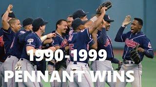 MLB | Pennant Winning Pitches | 1990-1999