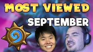 MOST VIEWED HEARTHSTONE CLIPS OF THE MONTH - September 2018