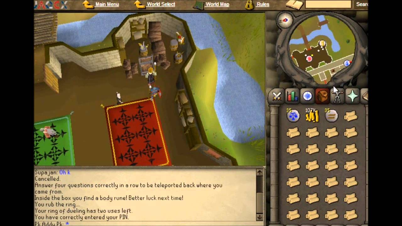 runescape 2007 1 1million an hour money making guide commentary old school osrs