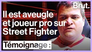 Aveugle et joueur professionnel sur Street Fighter