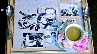 Diy Heirloom Tea Tray Tutorial