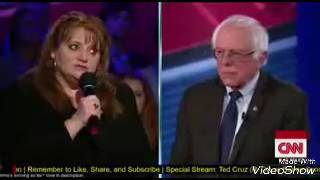 Bernie Sanders attacking small business owner