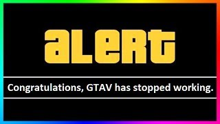 GTA 5 IS BROKEN WHAT IS GOING ON