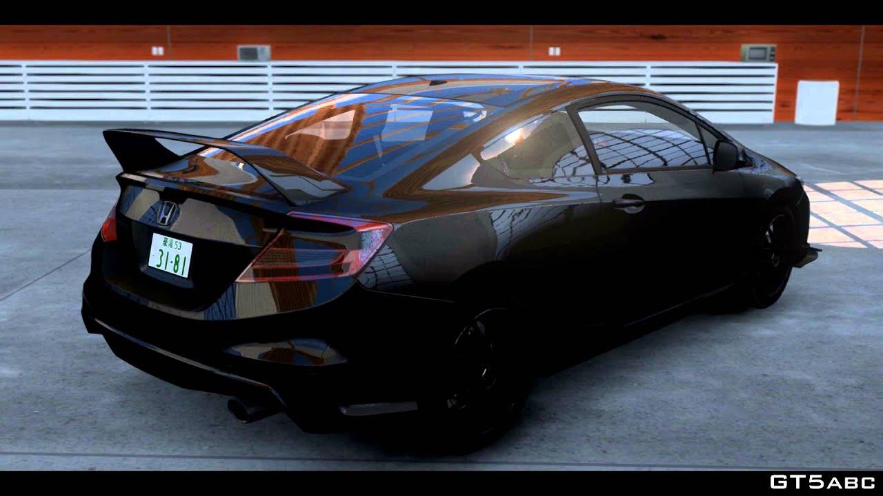 2008 Honda Civic Si Coupe 2013 CivicSi 1.0 (GTA IV Mod) - YouTube