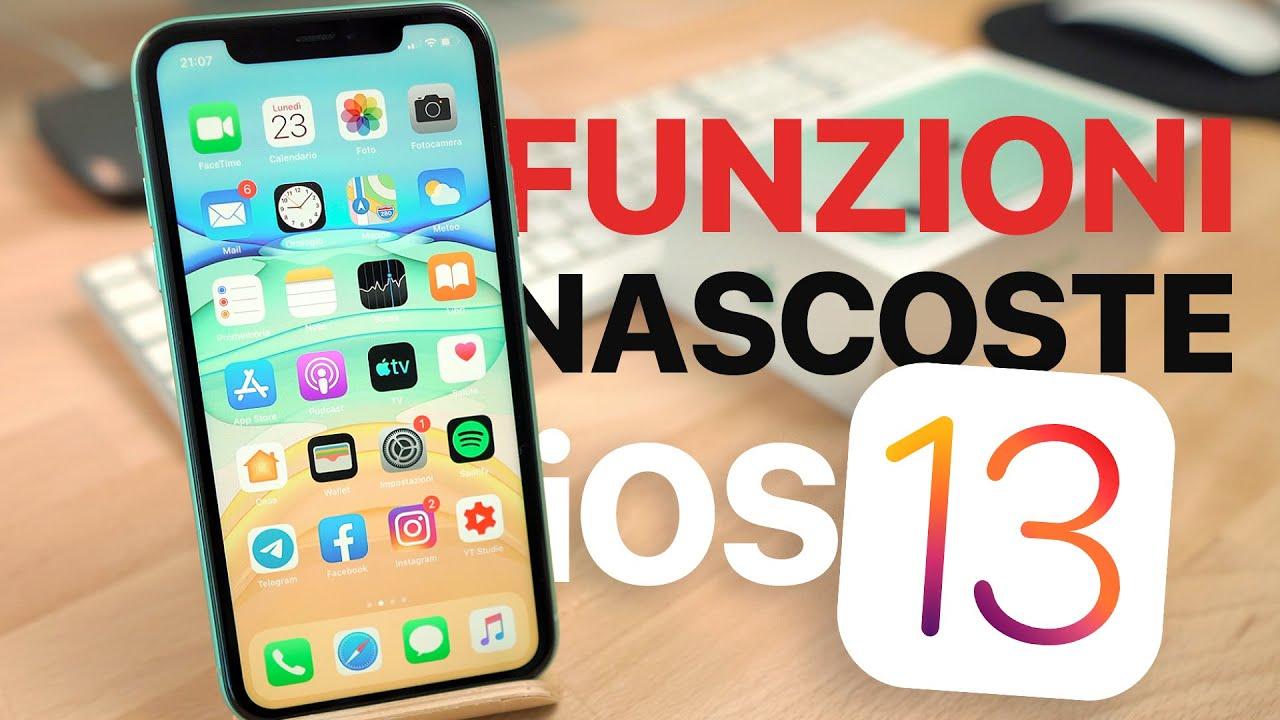 30 Funzioni Nascoste Di Ios 13 Su Iphone Youtube