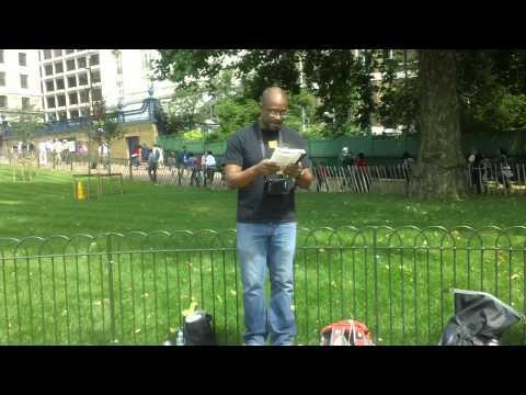 Robert Gray Preaching at London Olympics