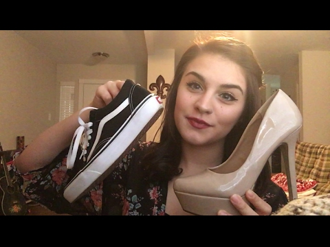 Traditional ASMR: The Sound Of Shoes   Tapping Scratching and Whispers   Part 2